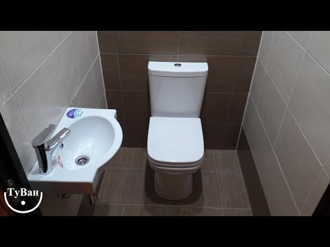 Ремонт ванной и туалета - уютная ванная и отдельный туалет.