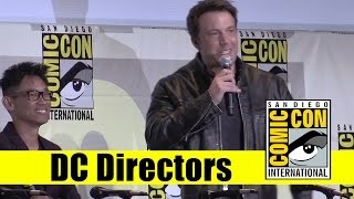 DC Directors Talk | 2016 Comic Con Full Panel (Ben Affleck, James Wan, David Ayer)