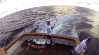 Fishing on the Georgie Girl - Garmin Virb