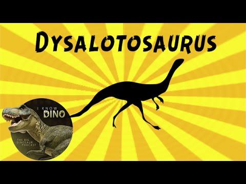 Dysalotosaurus: Dinosaur of the Day