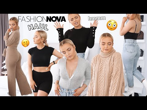 FASHION NOVA TRY ON CLOTHING HAUL | WINTER EDITION | Conagh Kathleen