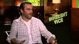 Joaquin Phoenix interview about his role in Inherent Vice