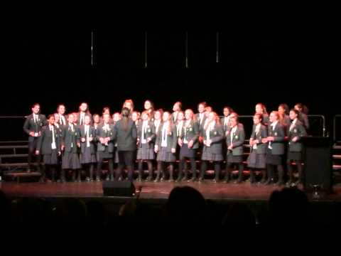 """Lean On Me"" - Samuel Marsden Chorus"