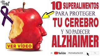 🔴✅ESTAS SON LAS CAUSAS DEL ALZHEIMER y Nunca Padecerlo con Estos ➜ 10 SUPERALIMENTOS