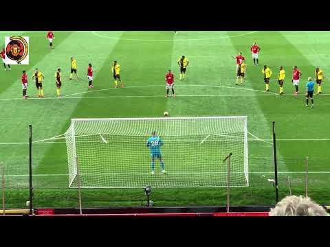 Bruno Fernandes Penalty vs Watford   Premier League   23.02.2020