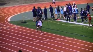*Meet Record* 2.14.15 Duncanville Boys High School Track 4x400