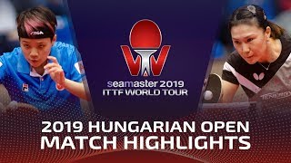 Doo Hoi Kem Vs Shan Xiaona | 2019 ITTF World Tour Hungarian Open Highlights (R32)