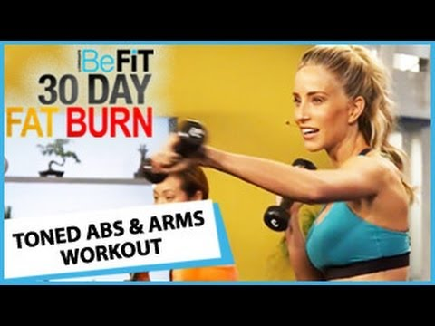 30 Day Fat Burn Toned Abs Arms Workout
