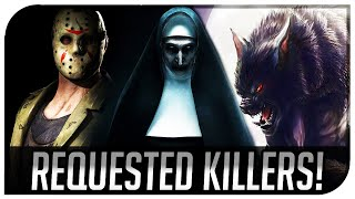 "DBD ""Most Requested Licensed Killers!"" - Dead By Daylight Licensed Characters We Need!"