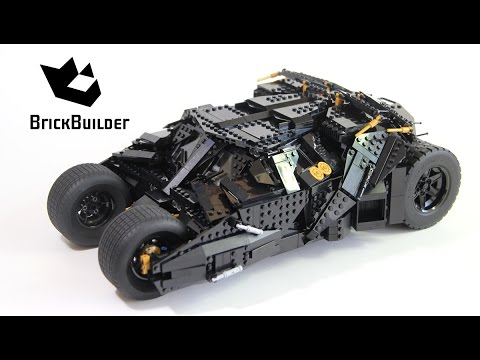 Lego Super Heroes 76023 The Tumbler - Lego Speed Build