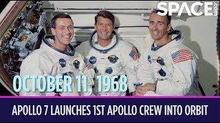 OTD in Space - Oct.11: Apollo 7 Launches the 1st Apollo Crew into Orbit