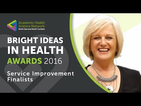 Bright Ideas in Health Awards 2016 Service Improvement Finalists
