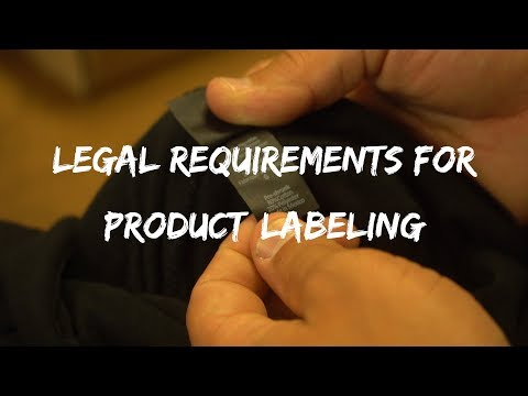 Tag Requirements For Clothing Brands