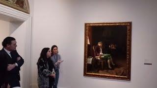 El Bellas Artes y Fundación Iberdrola exponen 48 obras restauradas
