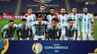 Argentina Road to Final Copa America 2021