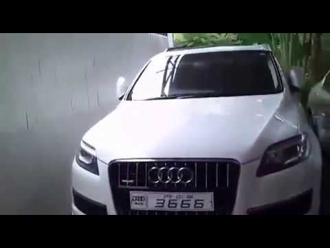 OMG Jayalalithas Car Collection Dont Miss To Notice The - Audi car number