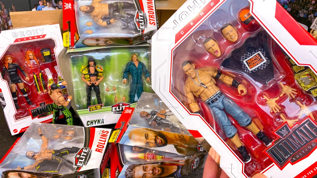 BRAND NEW WWE ELITE & ULTIMATE EDITION ACTION FIGURE UNBOXING!