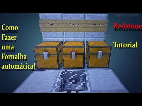 fornalha automatica!!! (minecraft Ps4)