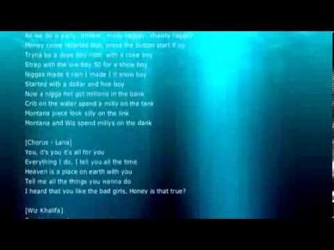 French Montana - All For You ft. Lana Del Rey, Wiz Khalifa, Snoop Dogg (Lyrics)