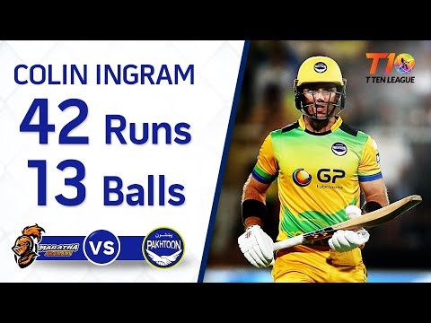 Colin Ingram's 42 off just 13 balls!!!