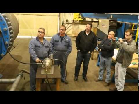 Ebco Industries: The Fabrication and Assembly of an 8 5MW Francis Turbine