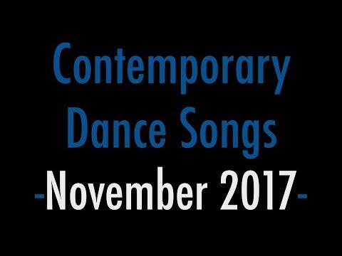 Contemporary Dance Songs - November 2017