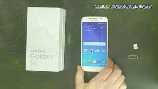 Unlock Samsung Galaxy S6 Tutorial & Guide   SM G920A, SM G920F, SM G920W8 Network AT&T, Rogers