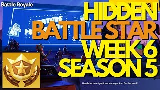 Week 6 (Season 5) SECRET Battle Star Loading Screen | Fortnite Tutorial