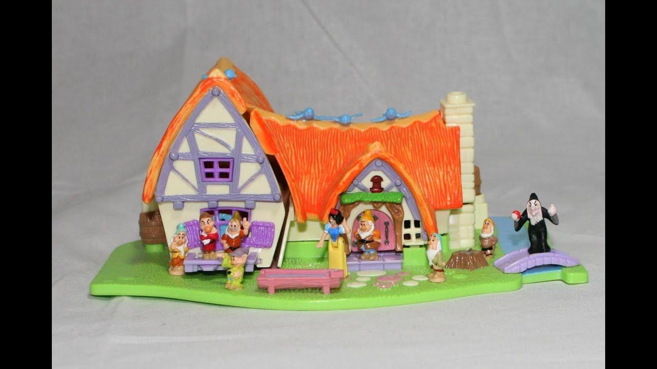 Disney Snow White And The 7 Dwarfs Polly Pocket Snow White