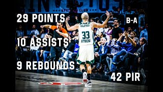 Calathes MAKES HISTORY In Road Victory! | 29 POINTS (Almost) TRIPLE DOUBLE at Efes | 16.11.2017