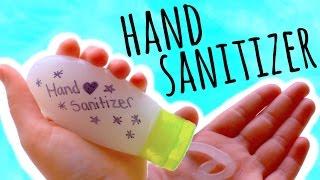 Diy Hand Sanitizer Make Your Own Germ Killer Youtube