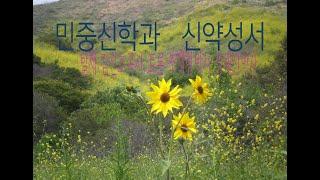 신약성서와 민중신학 1/신약학회/김진호목사/조재형박사/…