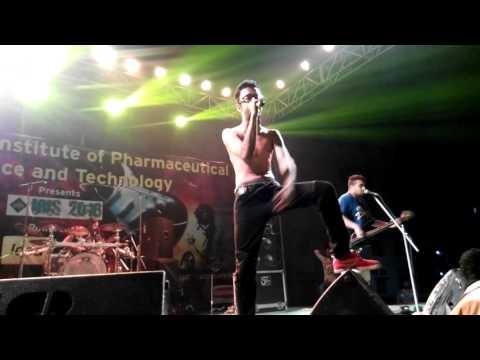 "Underground Authority--SONGS:""Urvashi,Amar Bhitor Bahire""at ""GNIPST IRIS 2016 FEST"""