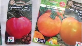 Самые сладкие томаты!!  Сорта томатов с медовым вкусом..