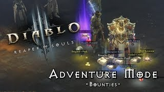 Adventure Mode - Bounties (D3 Reaper of Souls)