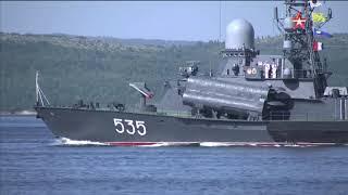 Парад на День ВМФ. Североморск