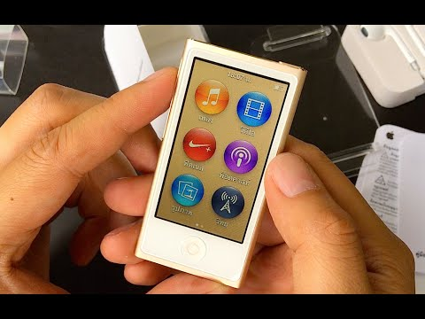 ipod nano 16gb ipod nano gold unbox. Black Bedroom Furniture Sets. Home Design Ideas
