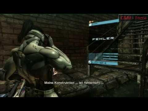 Metal Gear Rising: Sam DLC - Boss-Blade Wolf S Rank