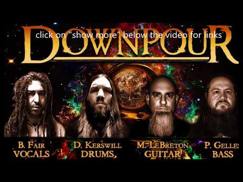 new band Downpour (Shadows Fall, Unearth) new debut album + track Without The Fear!