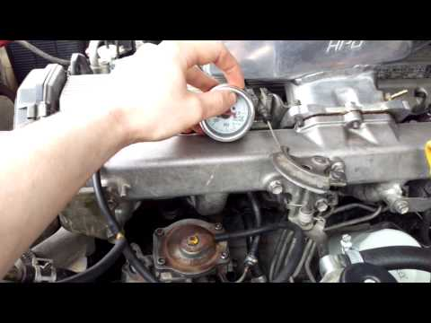 Toyota 1HDT Boost Compensator Spring Adjustment - YouTube