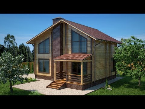 Смета на проект ДБП-150 дом из профилированного бруса 10х7,5 м на 150 м2 под ключ за 3 млн рублей