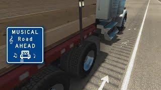 Musical Road in American Truck Simulator