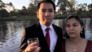 Kim & Kristine's Greet for Keith & Cocoy's Wedding