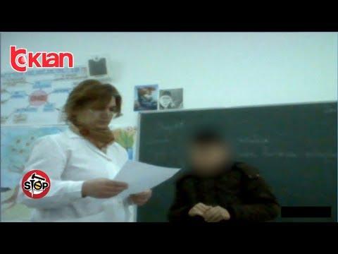 Stop - Kukes, mesuesja  godet e shan femijet me fjalet: Kucke e pise! (02 prill 2019)
