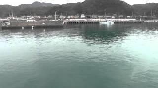 串本 紀伊有田漁港の湾内