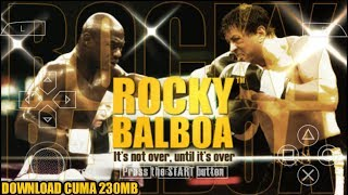 Cara Download Dan Install Game Rocky Balboa PPSSPP Android