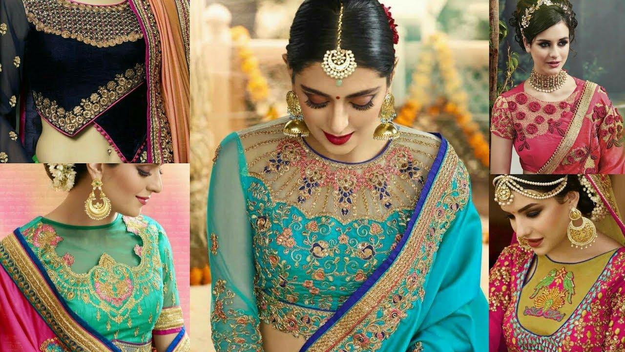 Beautiful Bridal Blouse Front Neck Designs Catalog 2017 2018 New Style Front Neck Blouse Design Youtube,Fractal Design Define R5 Black