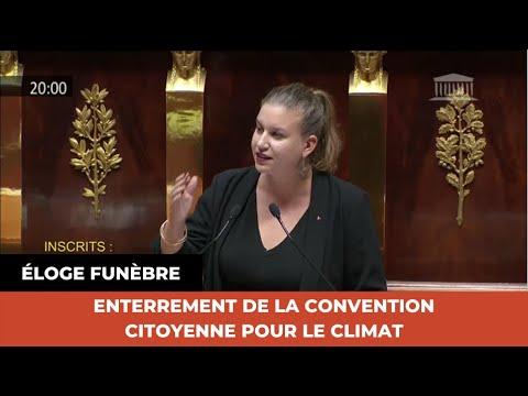 ENTERREMENT DE LA CONVENTION CITOYENNE POUR LE CLIMAT : ÉLOGE FUNÈBRE