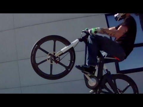 JULIEN DUPONT Rides Crazy E-Bike In Bavaria