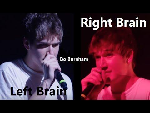 Left Brain, Right Brain w/ Lyrics - Bo Burnham - what